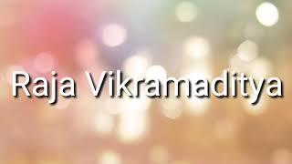 Raja vikramaditya story