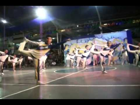 SPC Nursing Angels Pep Squad in the 2011 SPC Cheerdance Competition with Original Cheer Music Mix
