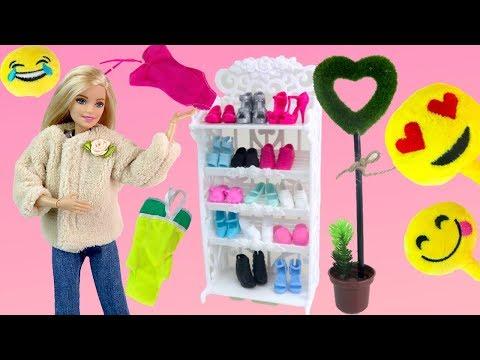 Куклы #Барби Шкаф Эмоджи Купальники Одежда для куклы Покупки АлиЭкспресс Одевалки