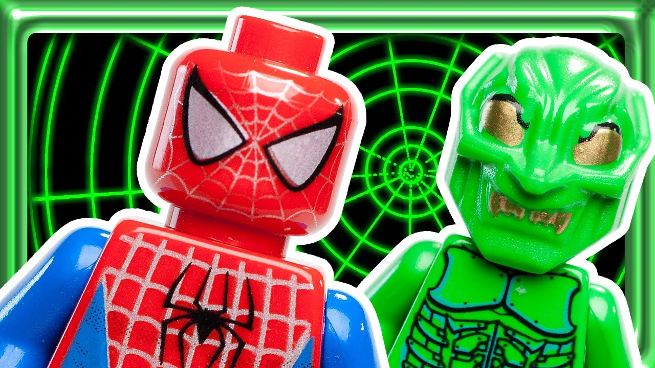 LEGO Spiderman - The Origins 4851 - build review - YouTube