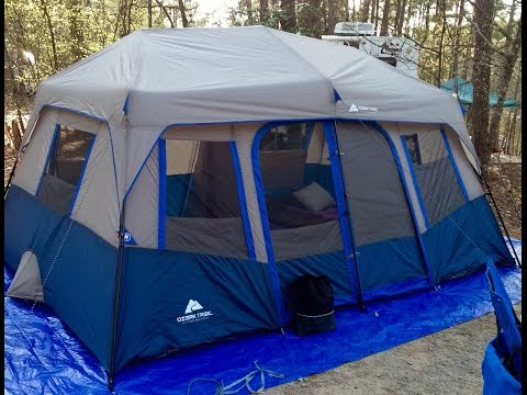 Ozark Trail 3 Room 10x20 Family Tent With Tent Air