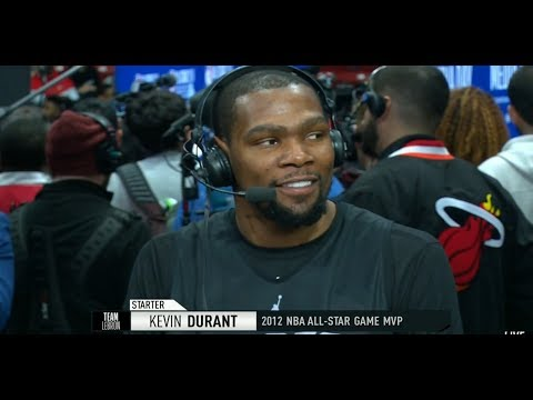 GameTime - Kevin Durant joins the Show | All-Star Media Day | February 16, 2019