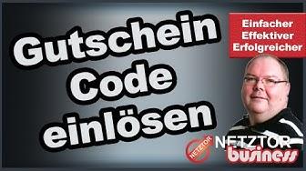 Gutschein Code einlösen Gratis Werbe Paket Premium Mitgliedschaft Tolles Paket | NETZTOR