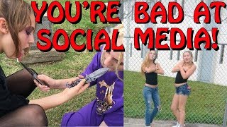 You're Bad at Social Media! #60