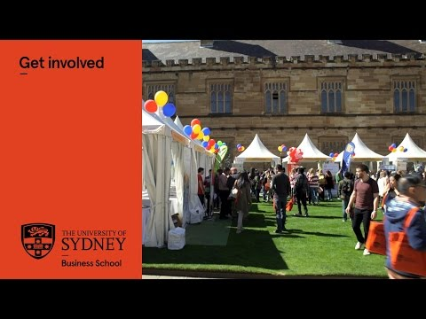 Get involved at the University of Sydney Business School