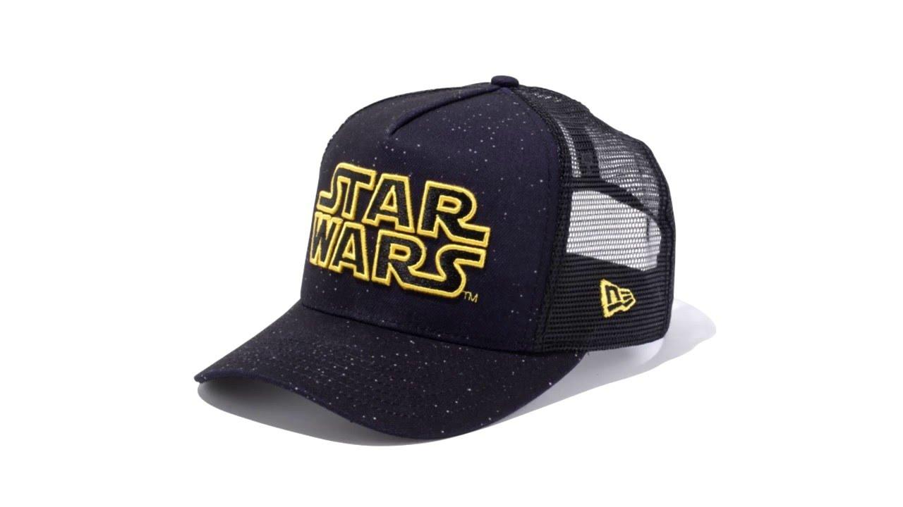 New Era Star Wars D Frame Trucker 9Forty Cap - YouTube 76ee09d4c58
