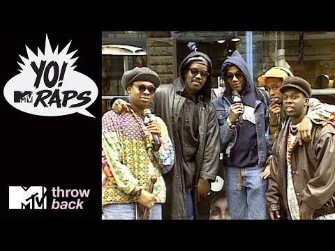 'A Tribe Called Quest & Fab 5 Freddy' Official Throwback Clip   Yo! MTV Raps   MTV