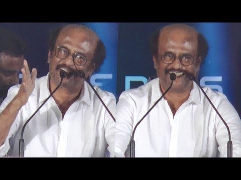 வந்தா அடிக்கணும் | Super Star Rajini Mass Speech | 2.O Trailer Launch
