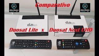 Diferença do Duosat Next UHD e Duosat Lite
