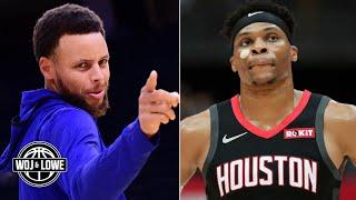 Warriors & Rockets fail to make the cut on Woj's 7 title contenders list for 2019-20 | Woj & Lowe