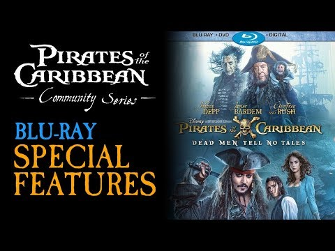 Pirates of the Caribbean 5 Blu-Ray + Special Features - Review