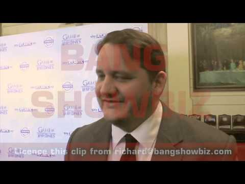 Game of Thrones Premiere  Tony Way Dontos Hollard Interview