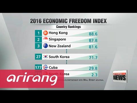 S. Korea ranks 27th on 2016 Index of Economic Freedom