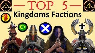 Top 5 Best Factions - Medieval 2: Kingdoms Total War