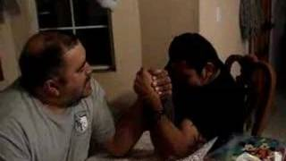 Arm Wrestling Match of the Century (rematch)