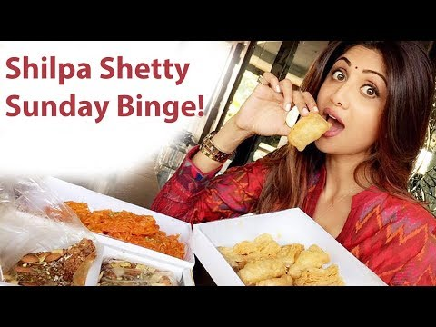 Shilpa Shetty Kundra Sunday Binge | Cheat Day