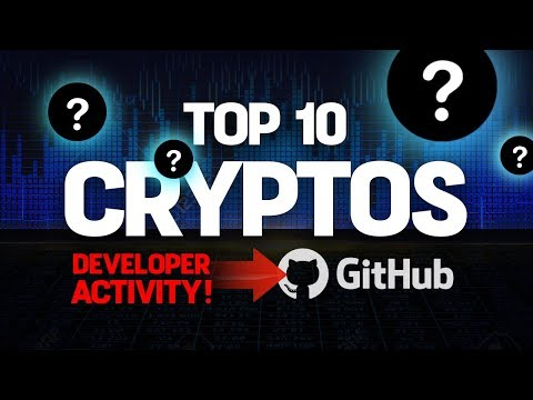 Top 10 Cryptos Ranked By (Developer GitHub Activity)