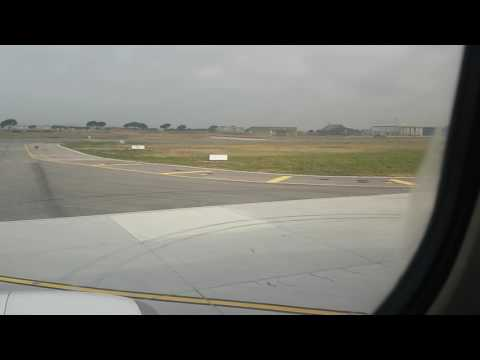Ryanair--Pisa (PSA) TO Brussels charleroi (CRL) pushback, Taxi and take-off!!!