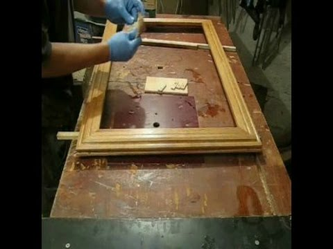 Dębowa rama lustra. How to make a wooden frame for mirror or picture ...