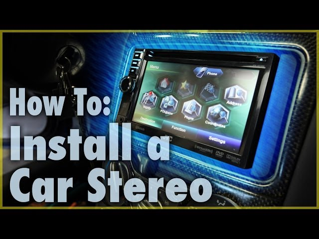 How to Install a Basic Aftermarket Car Stereo (with Pictures)