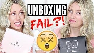 Worst Boxes??? Unboxing: Boxycharm VS Glossybox   JUNE