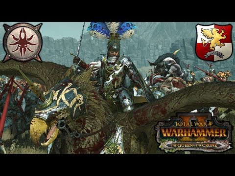 EMPIRE STRIKES BACK - Halberds and the Beastmen - Total War Warhammer 2 Gameplay