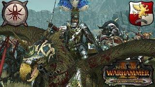 EMPIRE STRIKES BACK - Halberds and the Beastmen - Total War Warhammer 2 Gameplay