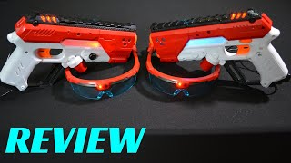 [REVIEW] X-SHOT LASER 360 (Plus a Laser Tag Battle between Me and the Wife!)