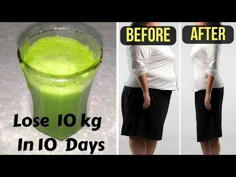 Lose 10 kgs In Just 10 Days | Fat Cutter & Extreme Weight Loss Drink | Burn Belly Fat Easily At Home