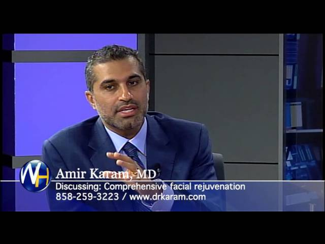 Comprehensive Facial Rejuvenation with San Diego, CA Plastic Surgeon, Amir Karam, MD