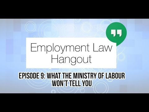 What the Ministry of Labour Won't Tell You