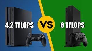 PS4 Pro vs Xbox One X - Peak Compute Isn't A Great Way To Compare GPU Performance