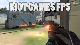 Project A, RIOT games new tactical FPS