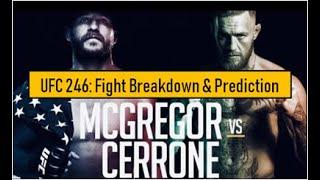 Conor Mcgregor vs Donald 'Cowboy' Cerrone