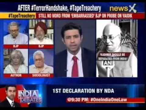Nation at 9: Ved Pratap Vaidik: Kashmir should be separated from India
