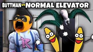 Adventures of Buttman #27: NORMAL ELEVATOR! (Annoying Orange Roblox)