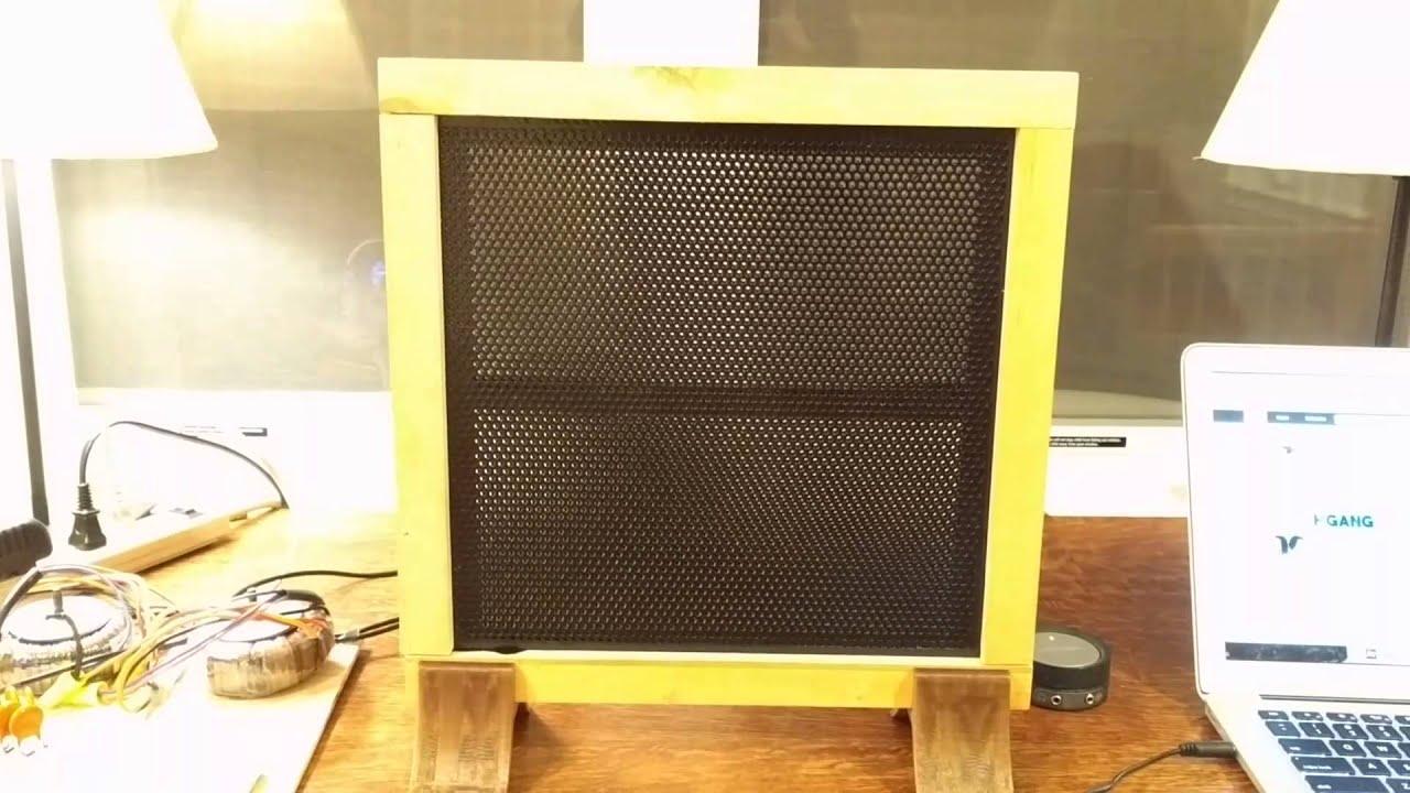how to build esl speakers