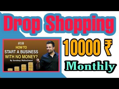 Dropshopping  in hindi | shopify dropshipping | Dropshipping for beginners in Hindi | USA from India thumbnail