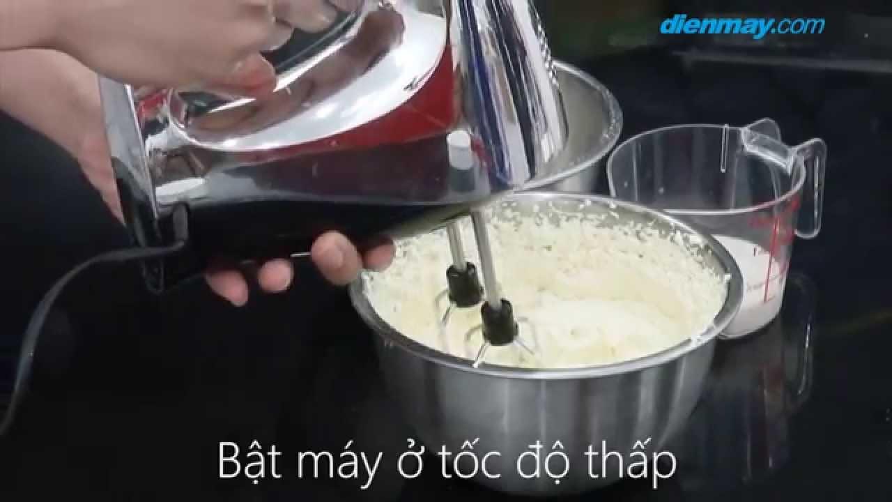 Cách làm bánh bông lan bơ nho | Điện máy XANH
