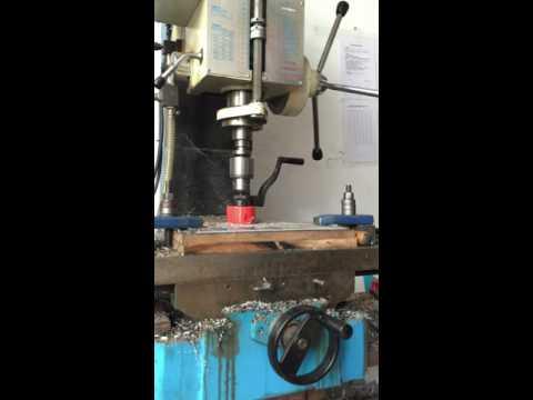 68mm M42 BI-Metal Holesaw Testing