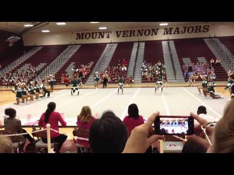 Falls Church High School Cheer 2013 Districts