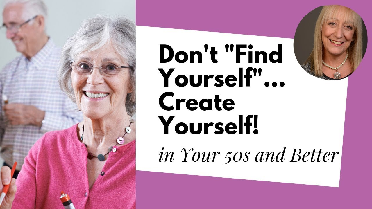 How to reinvent yourself at 60