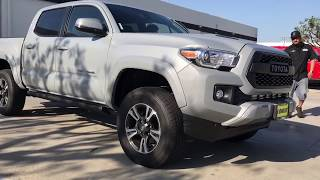2018 Toyota Tacoma on Bilstein 5100s and Amp Research Side Steps
