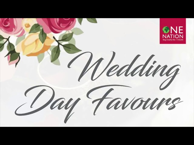 Wedding day favours Syria 23rd November 2018