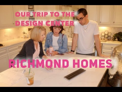 Come With Us to the Design Center/ RICHMOND HOMES