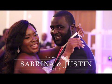Sabrina + Justin Wedding Film at Jacksonville Public Library