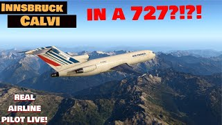 REAL Airline Pilot LIVE! Boeing 727 I CIVA INS I ORBX! **SPECIAL Guest EASA PILOT**