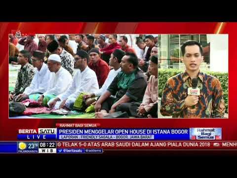 Idul Fitri, Jokowi Gelar Open House Di Istana Bogor
