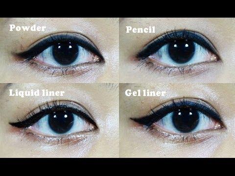 เริ่มต้นเขียนอายไลเนอร์แบบไหนดี ?? - basic about eyeliner  ♥ | Licktga
