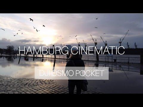 #HAMBURG CINEMATIC (4k) DJI OSMO Mobile Pocket - Hafen Nightlife und Fischmarkt